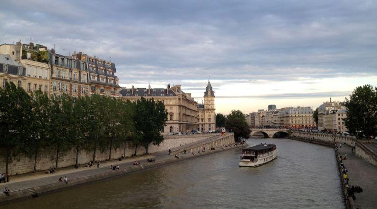 Bootje op de Seine