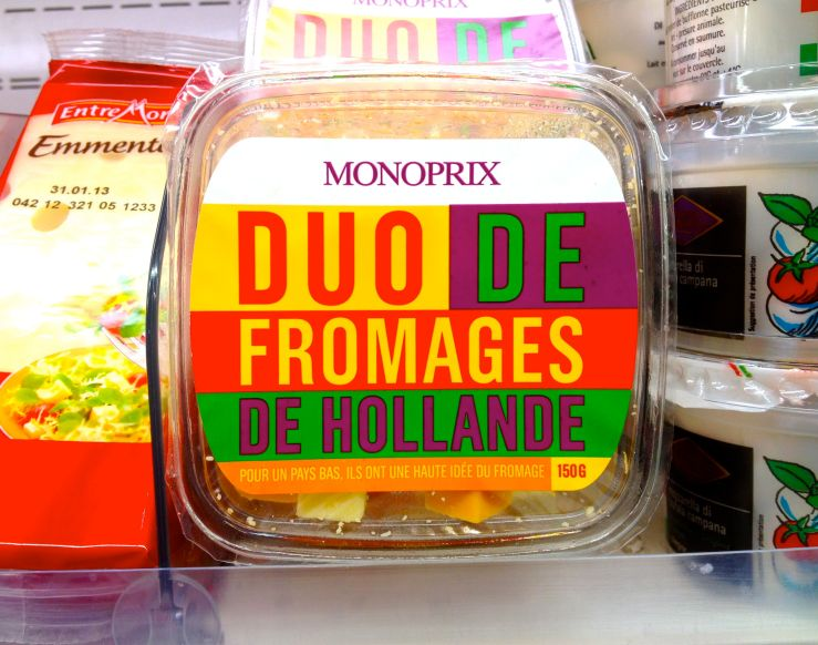 Duo de fromages de Hollande