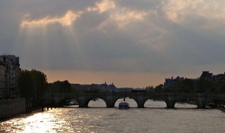 Een klassiek plaatje van de Seine