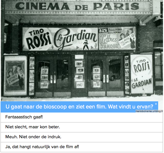 Quiz: bent u geschikt voor Parijs?