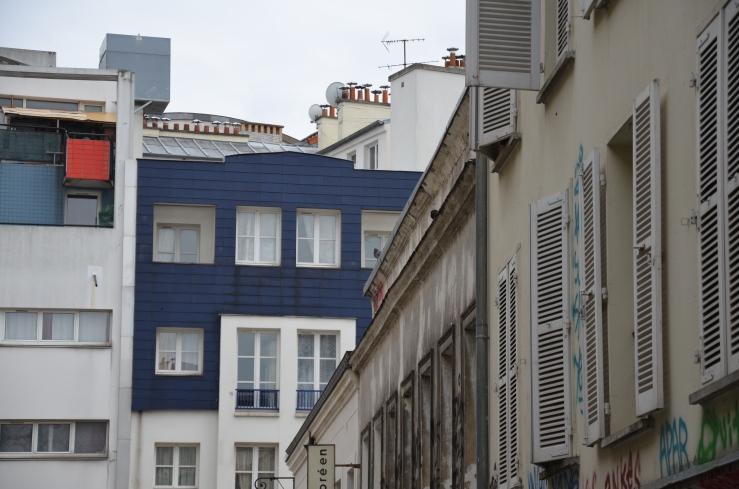 Huisjes in Parijs